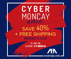 ABA Sales & Use Tax Deskbook — Cyber Monday Deal!